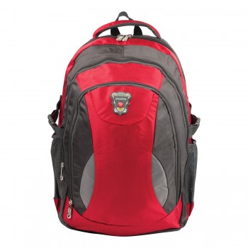 Рюкзак BRAUBERG StreetBall 1 30л 48х34х18 см серо-красный 224451