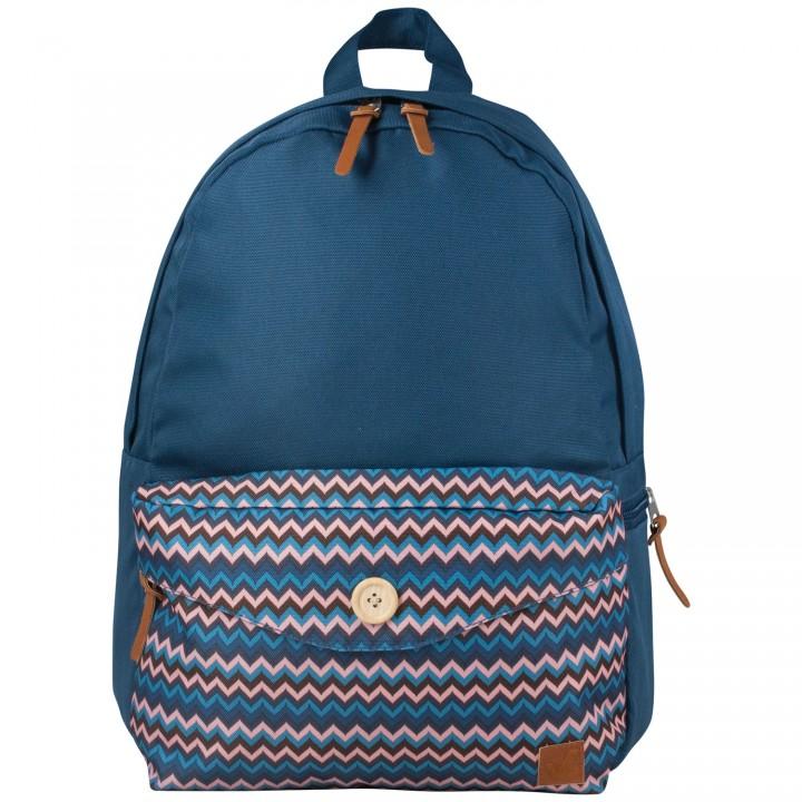 Рюкзак BRAUBERG универсальный синий 20л 40х28х12 см 225352