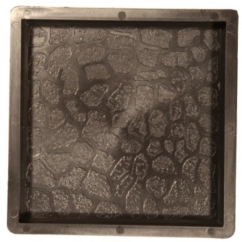 Форма для тротуарной плитки Alpha 71/15 25x25х2.5 Галька Ф32001