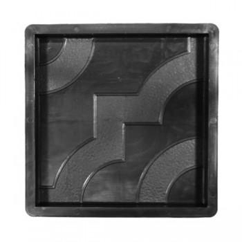 Форма для тротуарной плитки Alpha 71/8 30х30х3 Фантазия Ф33009