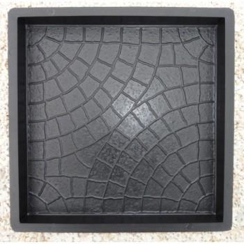 Форма для тротуарной плитки Alpha 71/6 30х30х3 Косточка Ф33011