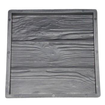 Форма для тротуарной плитки Alpha 71/19 30х30х3 Три доски Ф32007