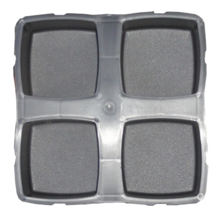 Форма для тротуарной плитки Alpha 7/6 Брук 2 11,7х11,7 Ф31047
