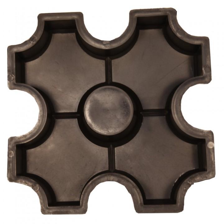 Форма для тротуарной плитки Alpha 16/1 Эко Ф33003