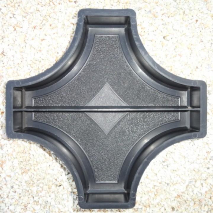 Форма для тротуарной плитки Alpha 20/5 Граль (Коло) Звезда большая половинки Ф31010/1