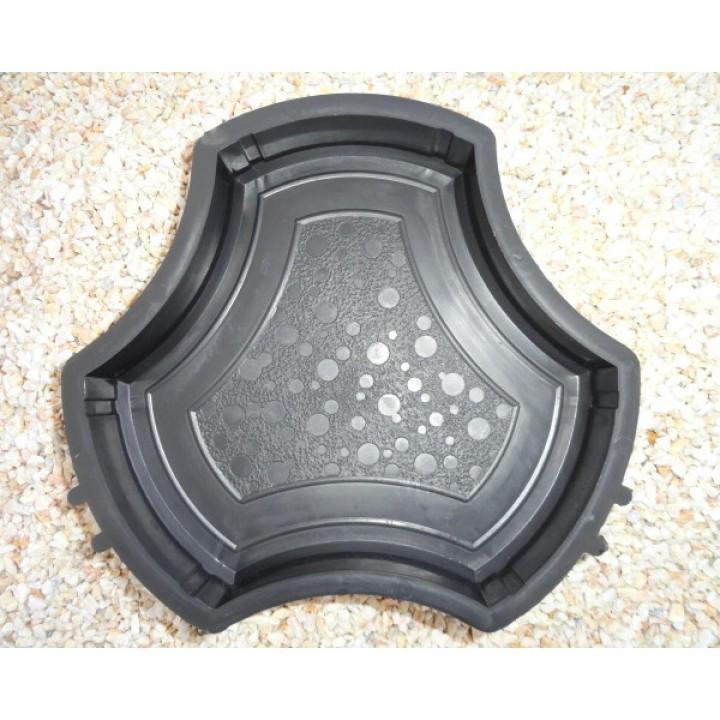 Форма для тротуарной плитки Alpha 2/3 Ракушка (Бикини) Ф31031