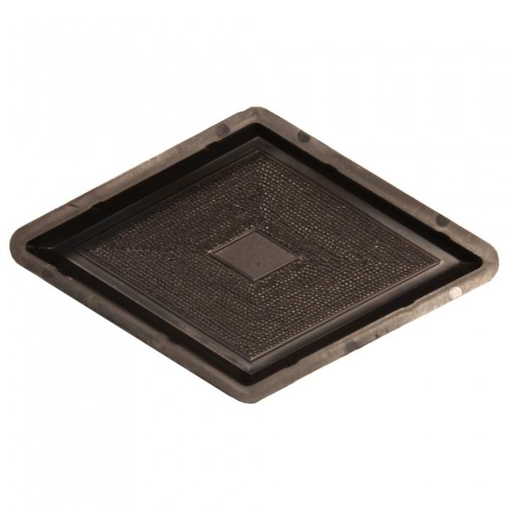 Форма для тротуарной плитки Alpha 10/3 Ромб узорный Ф31021