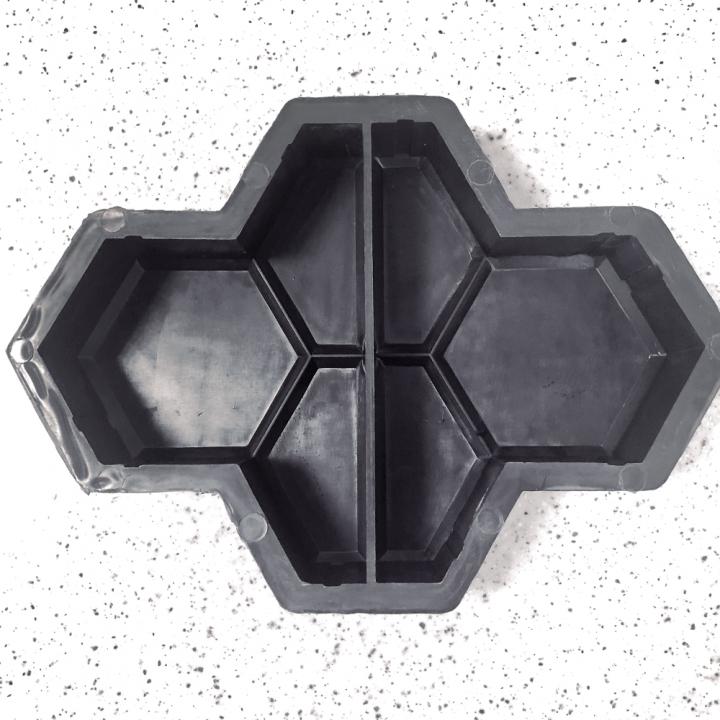 Форма для тротуарной плитки Alpha 11/1 Соты 4.5 Ф31037/5
