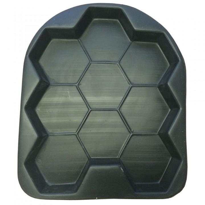 Форма для тротуарной плитки ЦП Соты