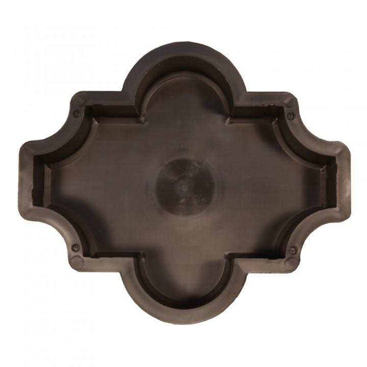 Форма для тротуарной плитки SP Клевер гладкий Ф11019