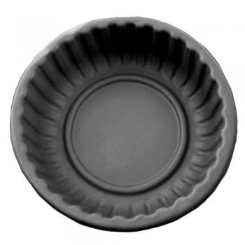 Клумба Круглая черная