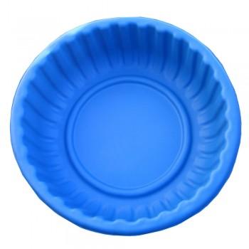 Клумба Круглая синяя