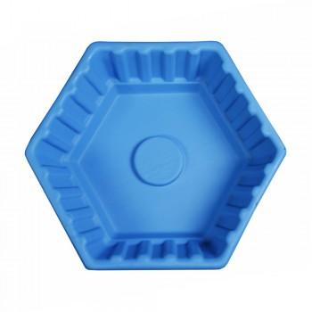Клумба Шестигранная малая синяя