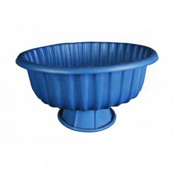 Вазон Круглый синий