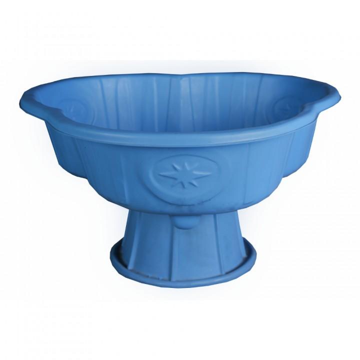Вазон Трилистник синий