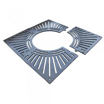 Решетка приствольная SP 100х100 см чугунная квадратная 37000