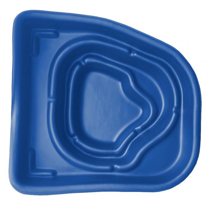Декоративный пластиковый садовый пруд 180 л синий