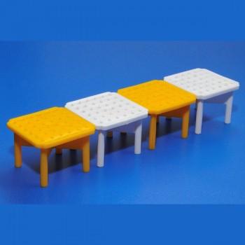 Маркер газонной решетки белый/желтый 68411