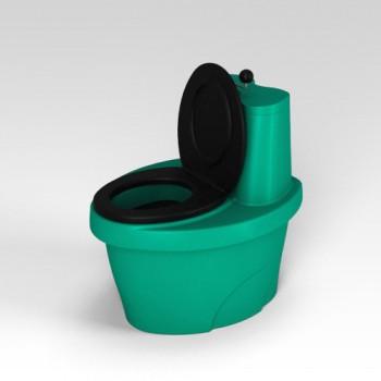Туалет торфяной Rostok зеленый