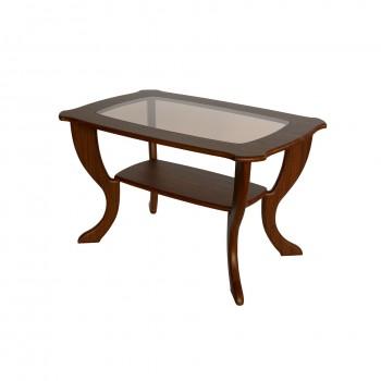 Журнальный столик Калифорния Мебель Маэстро со стеклом СЖС-01