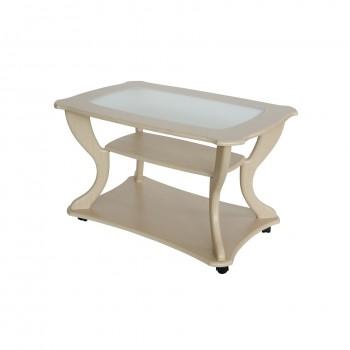 Журнальный столик Калифорния Мебель Маэстро со стеклом СЖС-02