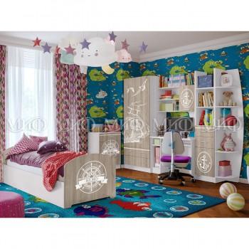 Комплект мебели для детской комнаты МиФ Немо