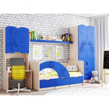Комплект мебели для детской комнаты МиФ Юниор-3