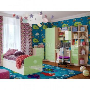 Комплект мебели для детской комнаты МиФ Юниор-2