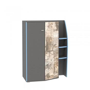 Шкаф комбинированный Моби Индиго 10.20