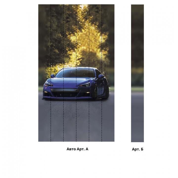 Панно из ПВХ-панелей с цифровой печатью Авто