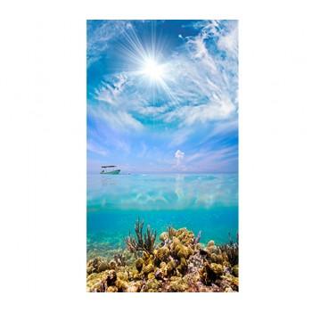 Панно из ПВХ-панелей с цифровой печатью Морское дно