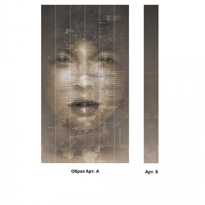Панно из ПВХ-панелей с цифровой печатью Образ