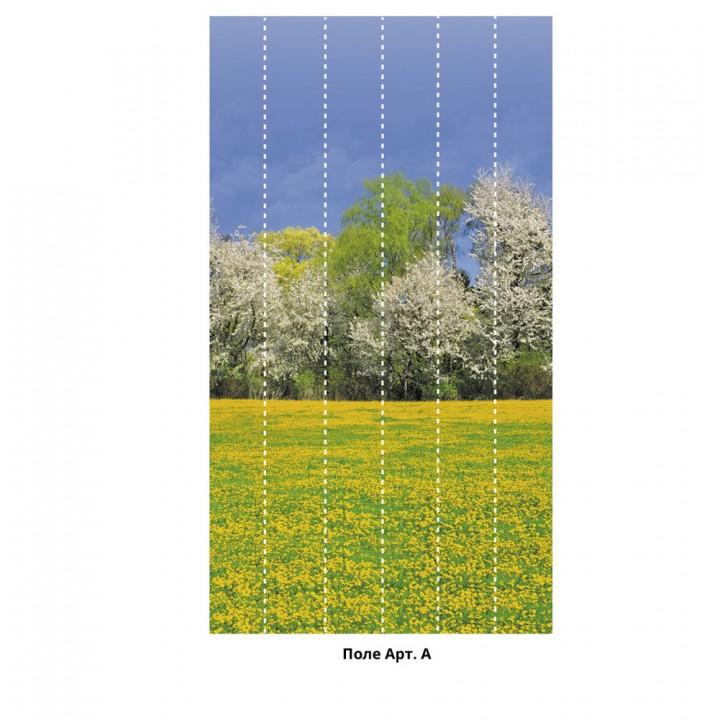 Панно из ПВХ-панелей с цифровой печатью Поле
