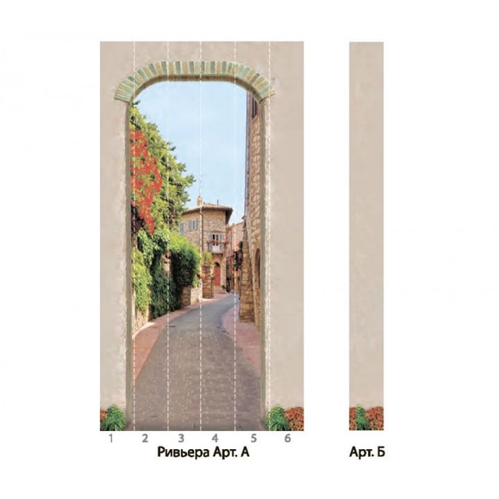 Панно из ПВХ-панелей с цифровой печатью Ривьера