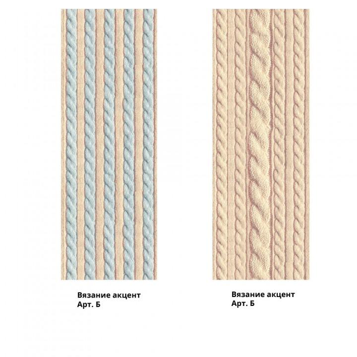 Панно из ПВХ-панелей с цифровой печатью Вязание