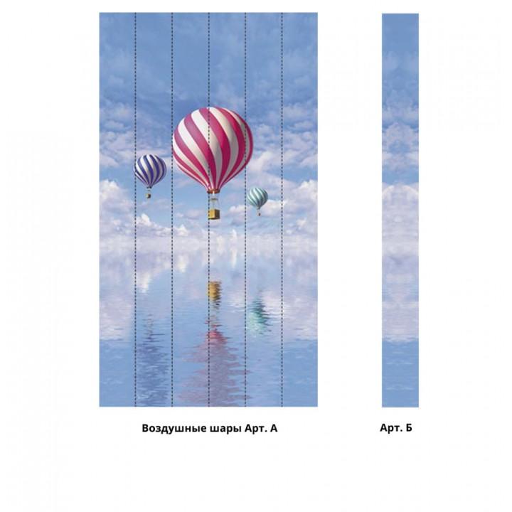 Панно из ПВХ-панелей с цифровой печатью Воздушные шары