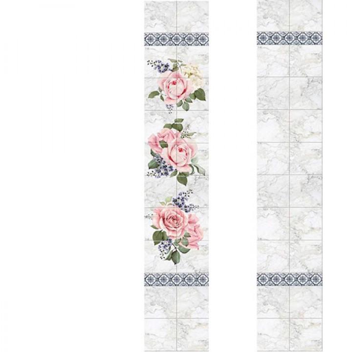 ПВХ-панели с имитацией плитки Анжелина