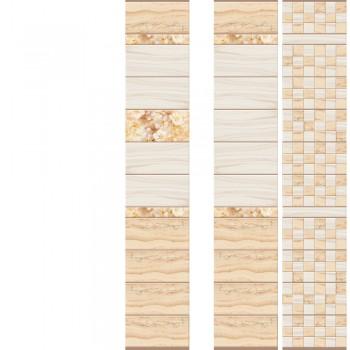 ПВХ-панели с имитацией плитки Мрамор Золотой