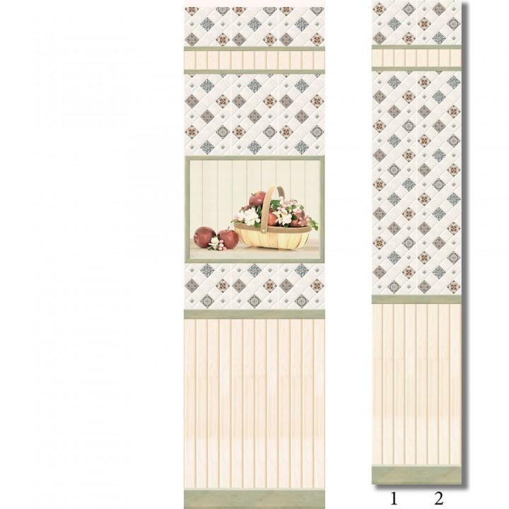 ПВХ-панели с имитацией плитки Провинция 1