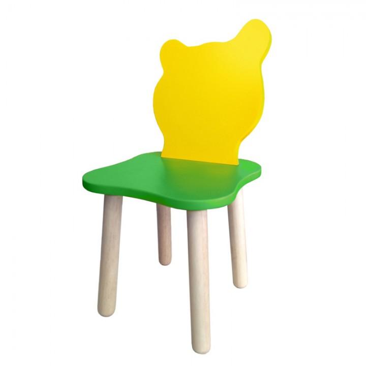 Детский стульчик Polli Tolli Джери Зелено-желтый