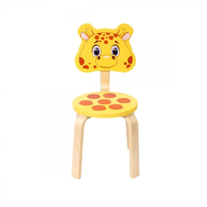 Детский стульчик Polli Tolli Мордочки Жирафик