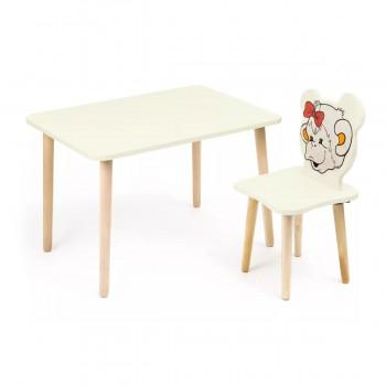 Комплект детской мебели Polli Tolli Джери с ванильным столиком