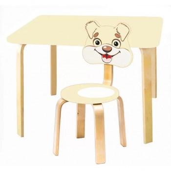 Комплект детской мебели Polli Tolli Мордочки с ванильным столиком