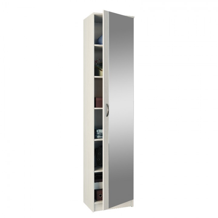 Шкаф 1-дверный с зеркалом МФ Мастер Ольга