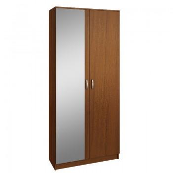 Шкаф 2-х дверный с зеркалом МФ Мастер Ольга