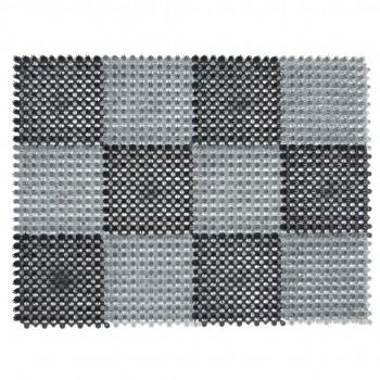 Коврик-травка SunStep 36х47см черно-серый 71-001