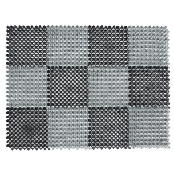 Коврик-травка SunStep 42х56 см черно-серый