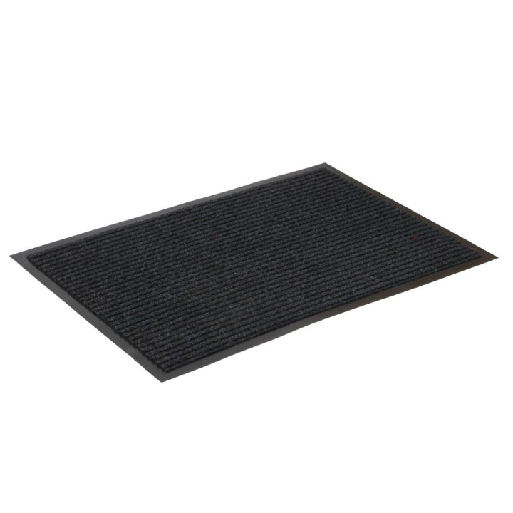Коврик влаговпитывающий ребристый SunStep 50x80 см черный
