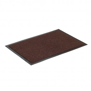 Коврик влаговпитывающий ребристый SunStep 40x60 см коричневый 35-032
