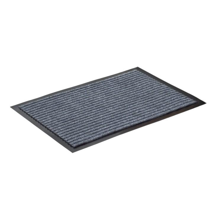 Коврик влаговпитывающий ребристый SunStep 40x60 см серый